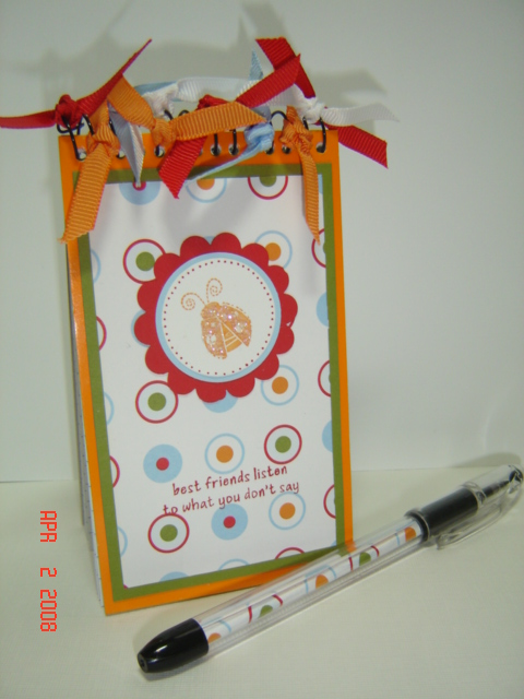 Garden Whimsy Notepad and Pen Set