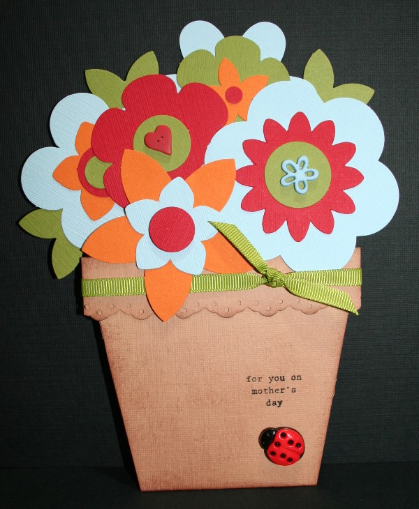 mothers day flower pot 1