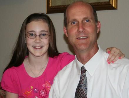 sarah and daddy