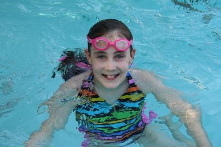 blog sarah in water