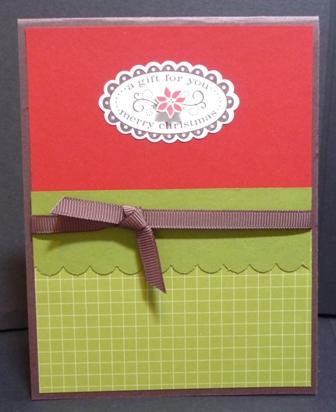christmas punch set card #1