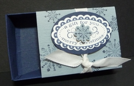 christmas punch small box navy