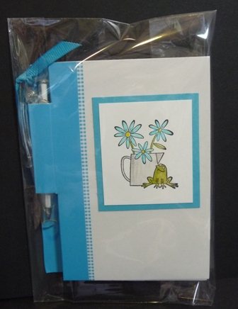 frog notepad