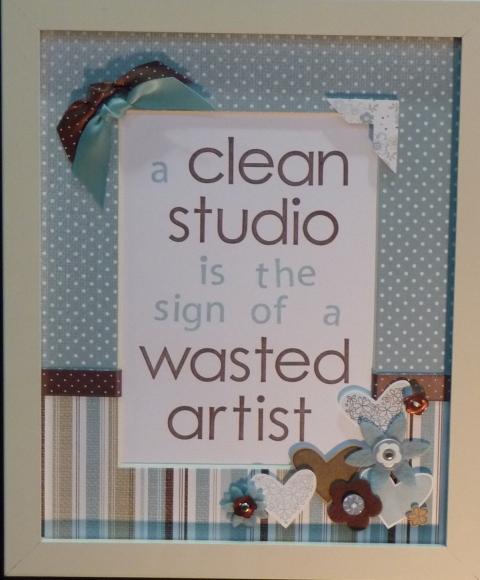 clean studio