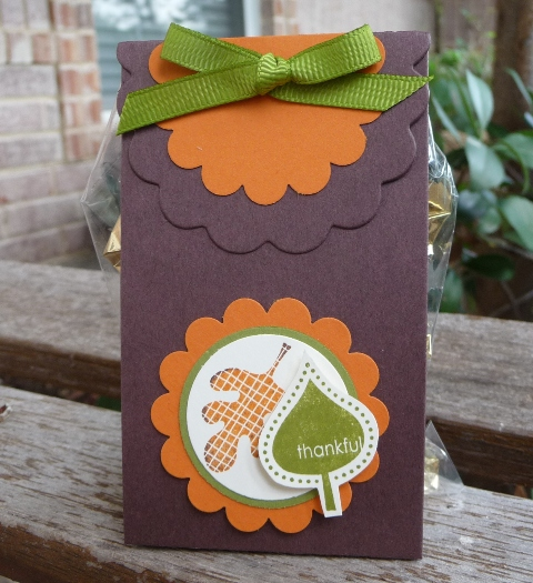 falling leaves treat holder