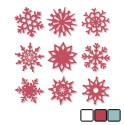 felt snowflakes large