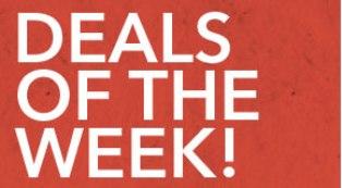 deals of the week october 2009