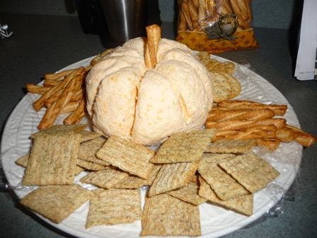 pumpkin cheeseball