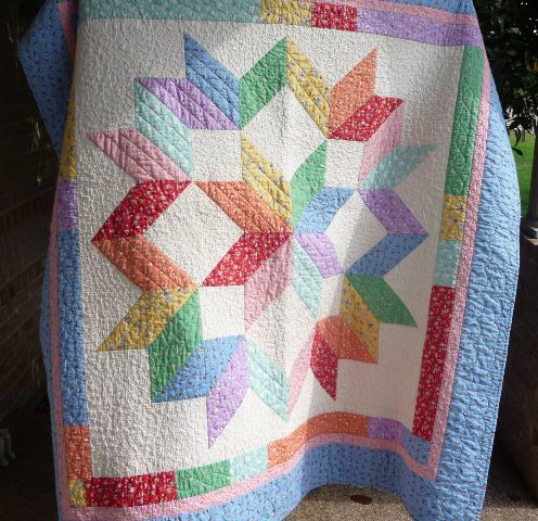 Haileys Quilt And Carpenters Star Quilt Perrywinkle Press