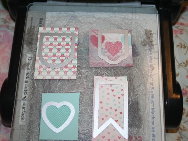 Hearts a Flutter Card 1