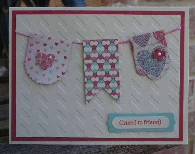 Hearts a Flutter Card 4