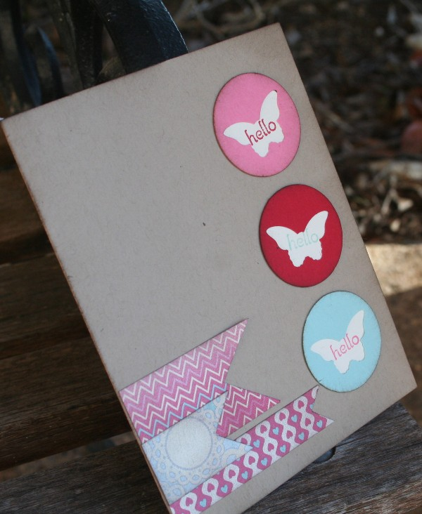 butterfly punch card 1