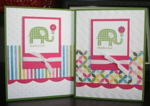 patterned occasions card 1