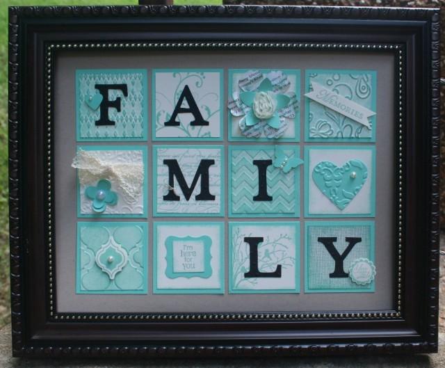 Coastal Cabana Family Frame
