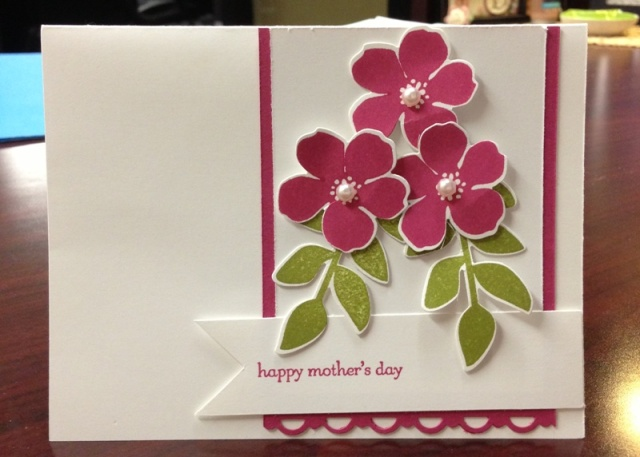 mothers day card - maria