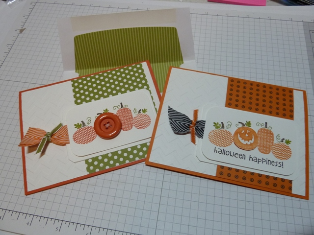 halloween happiness both cards