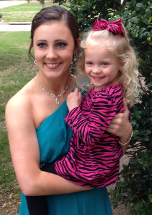 sarah prom with lila