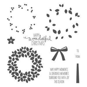 wondrous wreath stamp set